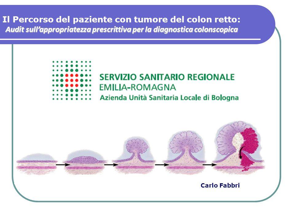 Il Percorso del paziente con tumore del colon retto: