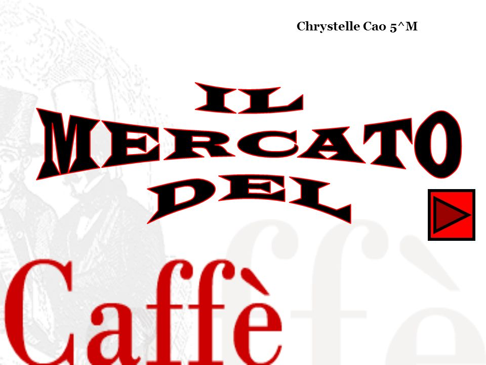 IL MERCATO DEL Chrystelle Cao 5^M