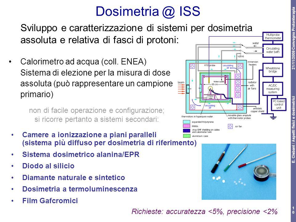 E. Cisbani / Aspetti fisici e dosimetrici