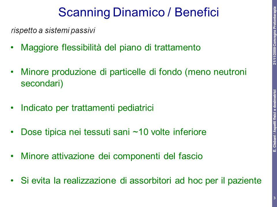 Scanning Dinamico / Benefici