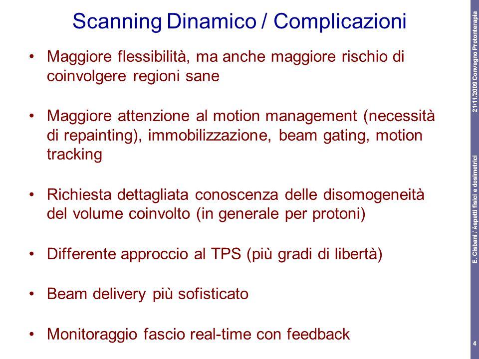 Scanning Dinamico / Complicazioni
