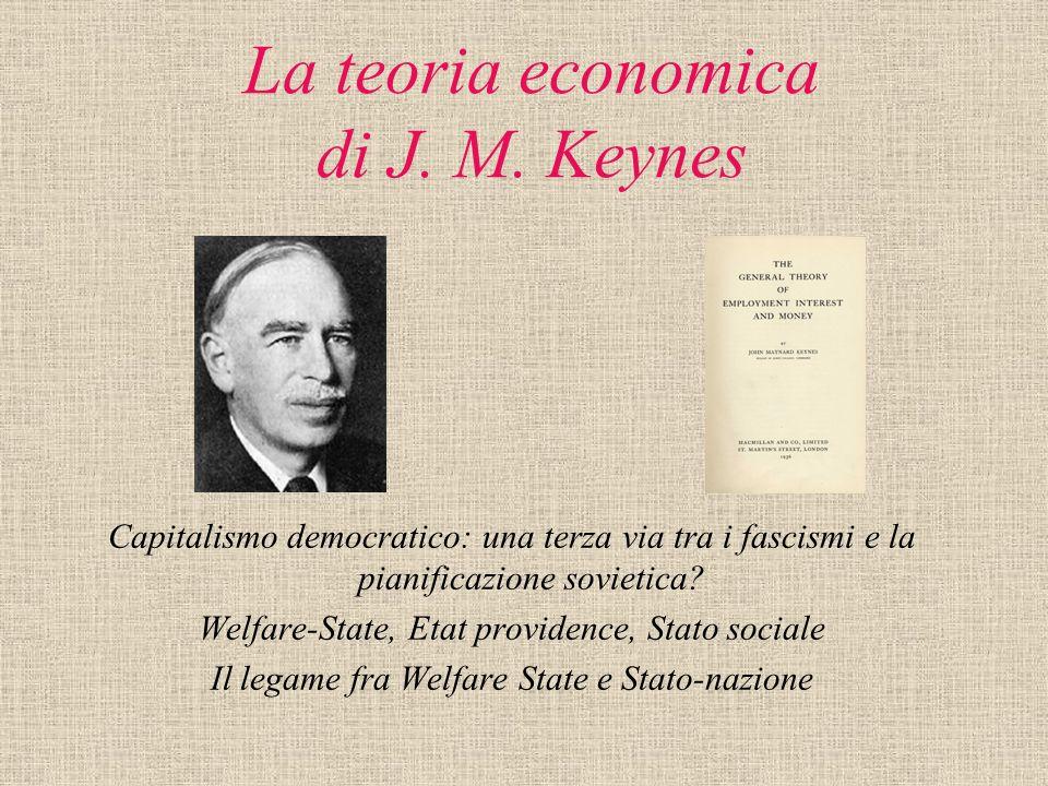 La teoria economica di J. M. Keynes