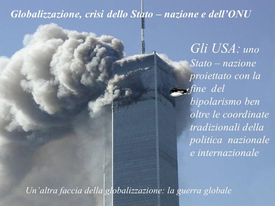 Globalizzazione, crisi dello Stato – nazione e dell'ONU