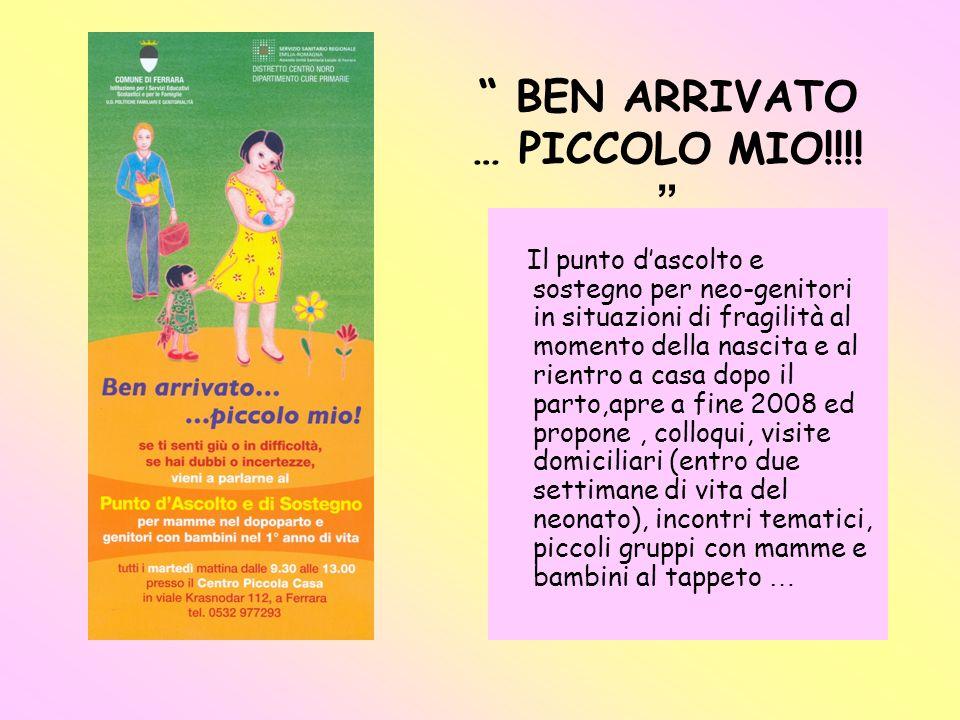 BEN ARRIVATO … PICCOLO MIO!!!!