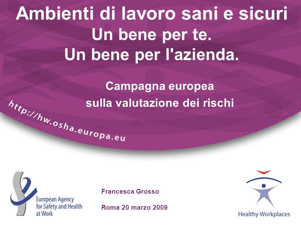 Campagna europea sulla valutazione dei rischi
