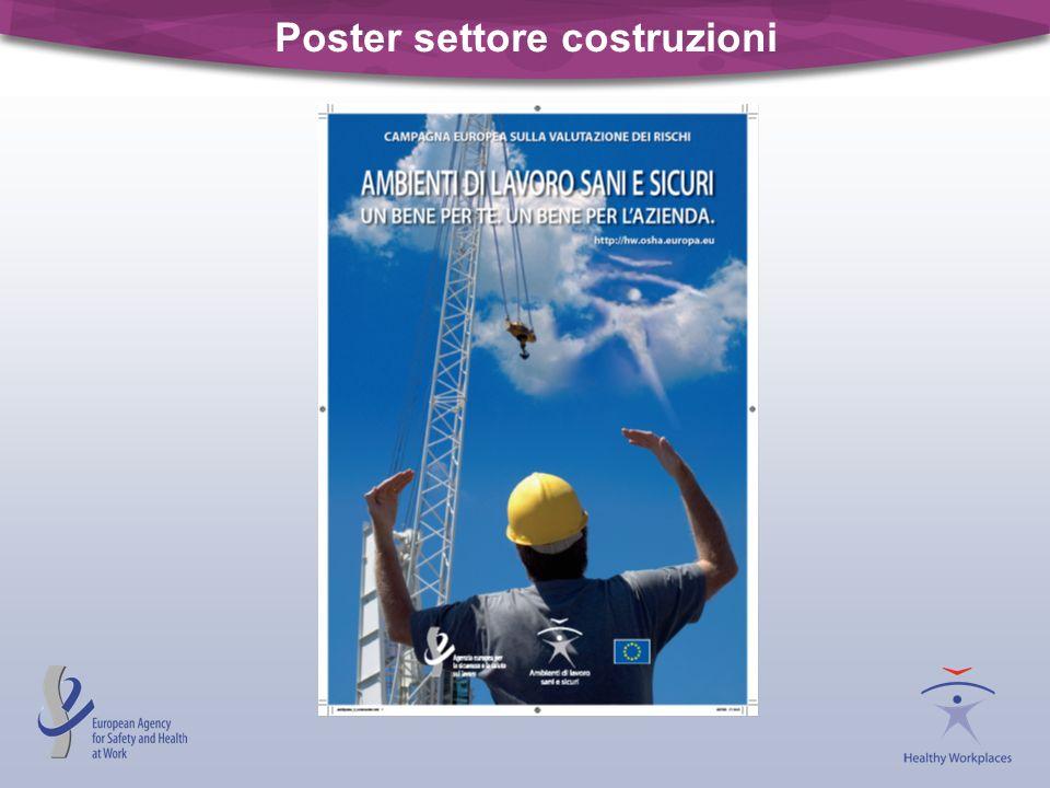 Poster settore costruzioni