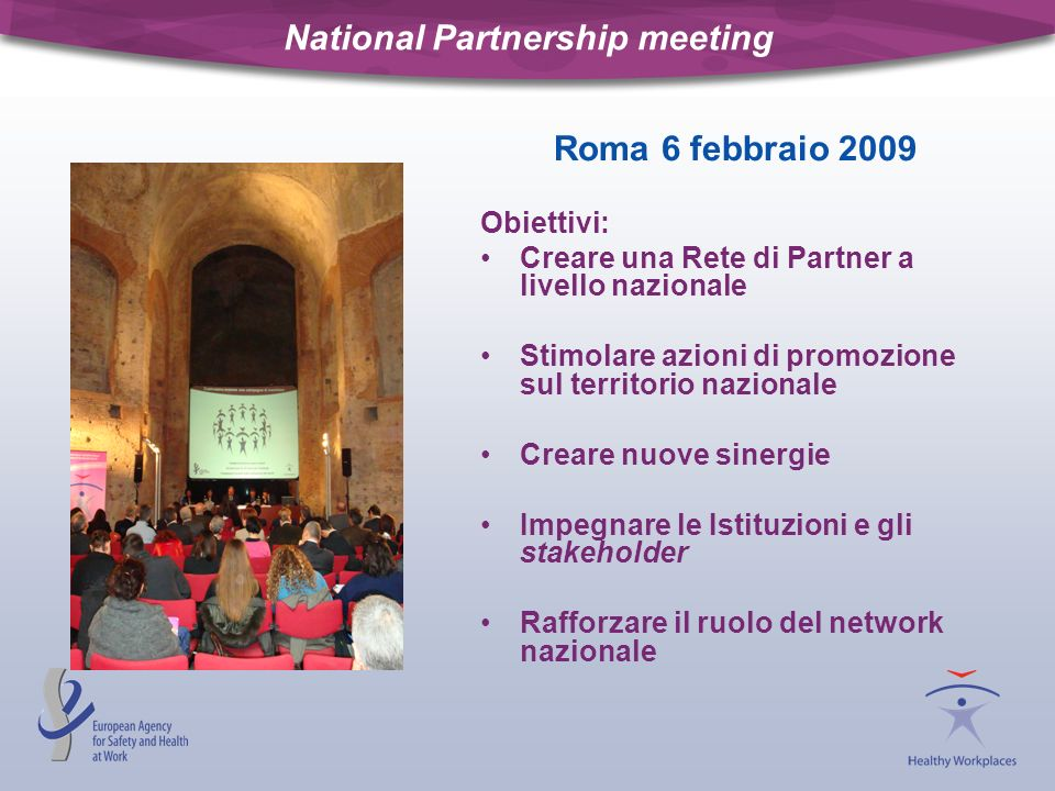 National Partnership meeting