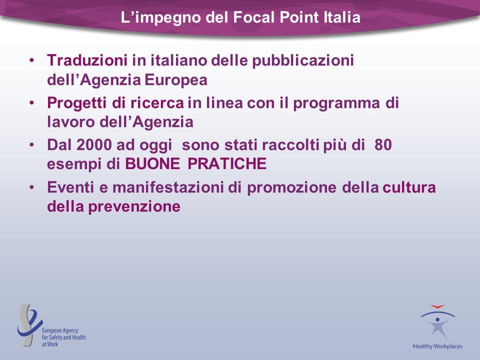 L'impegno del Focal Point Italia