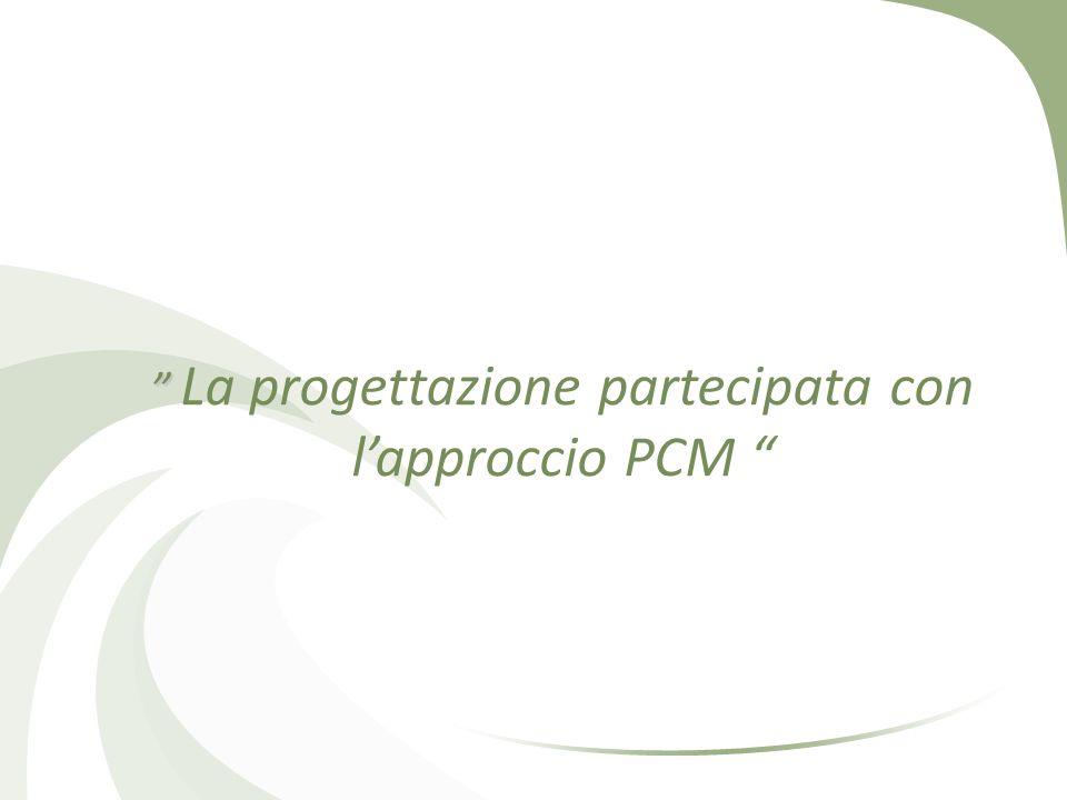 La progettazione partecipata con l'approccio PCM