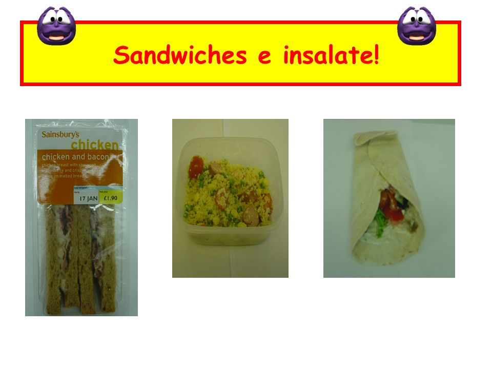 Sandwiches e insalate!