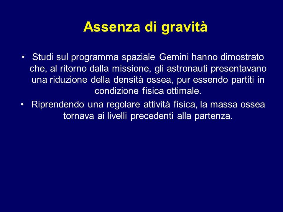 Assenza di gravità