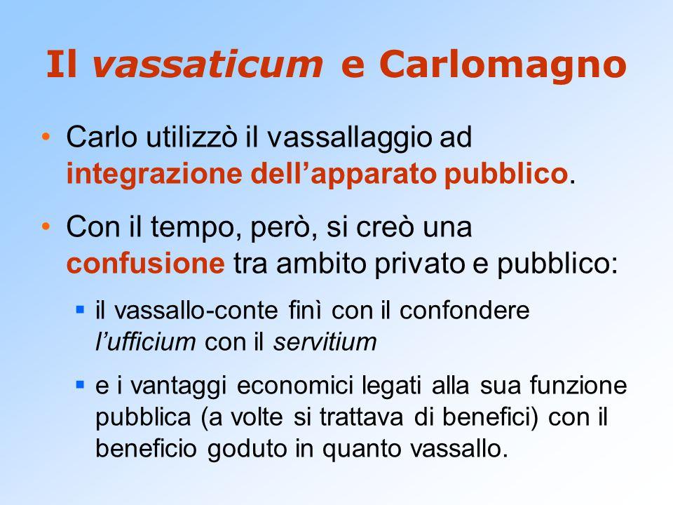 Il vassaticum e Carlomagno