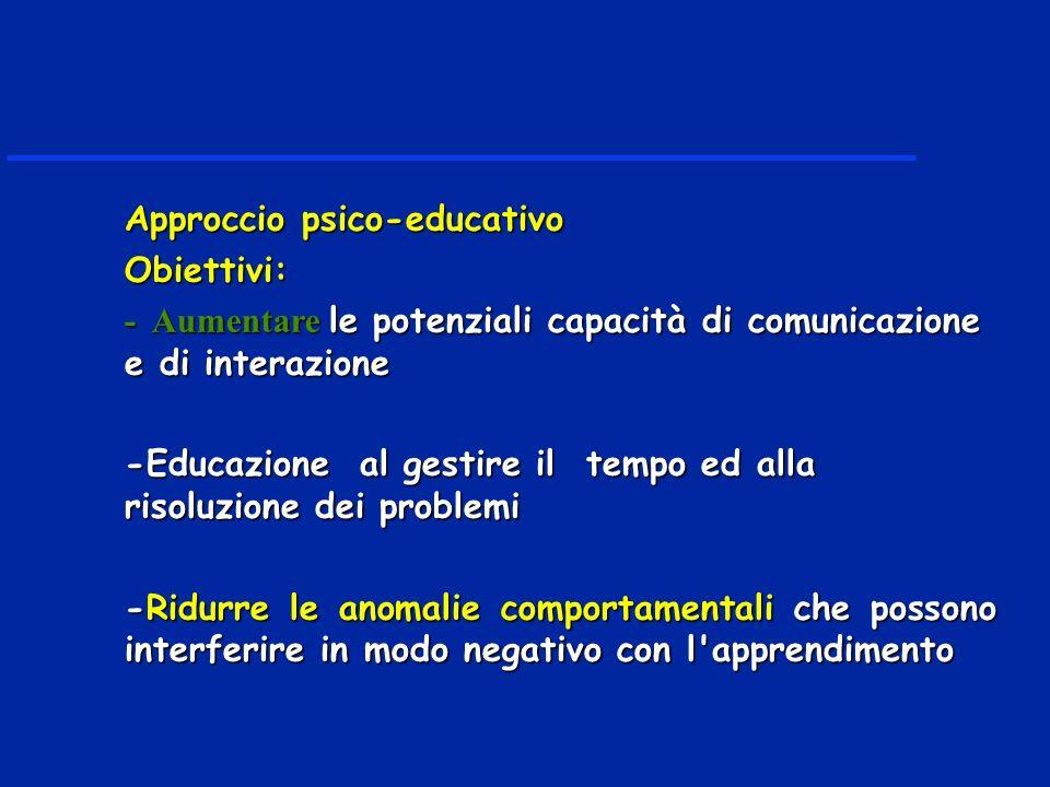 Approccio psico-educativo