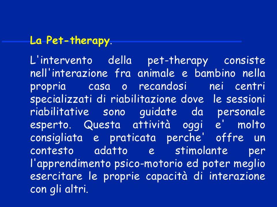 La Pet-therapy.