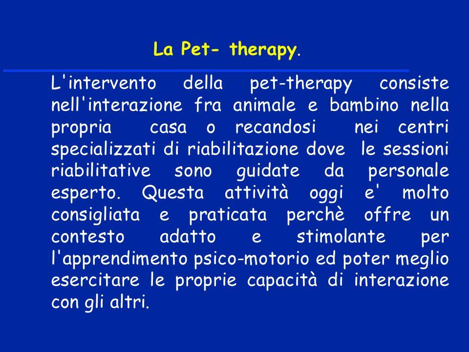 La Pet- therapy.