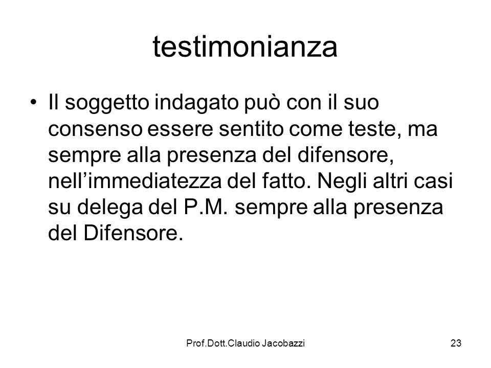 Prof.Dott.Claudio Jacobazzi