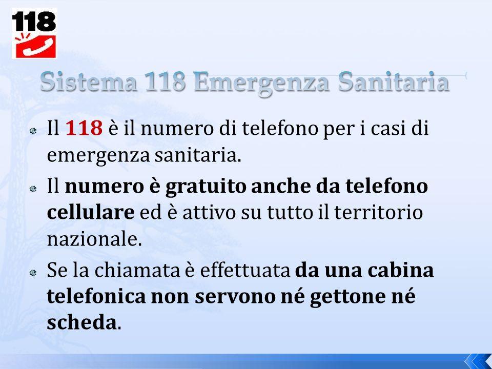 Sistema 118 Emergenza Sanitaria