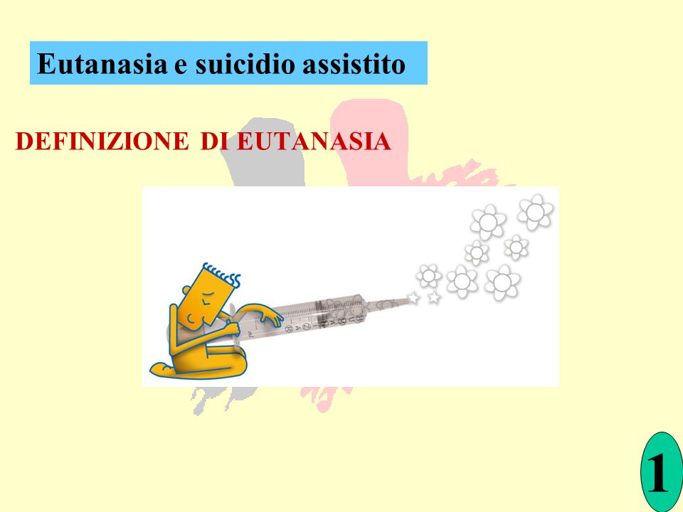 Eutanasia e suicidio assistito