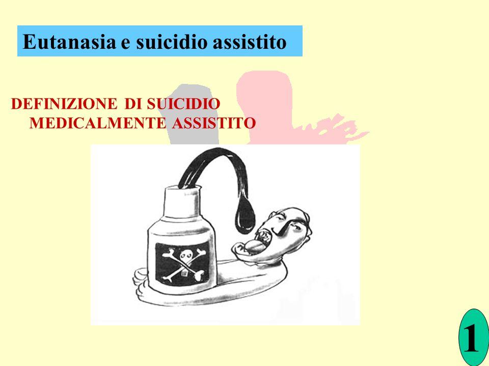 1 Eutanasia e suicidio assistito