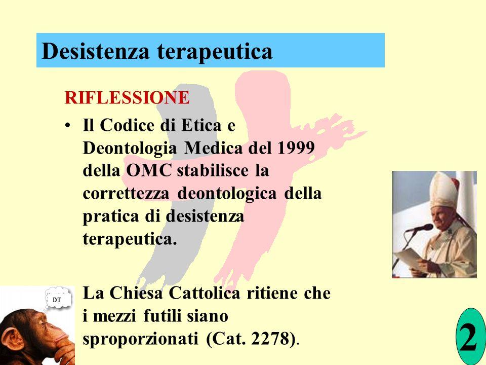 2 Desistenza terapeutica RIFLESSIONE
