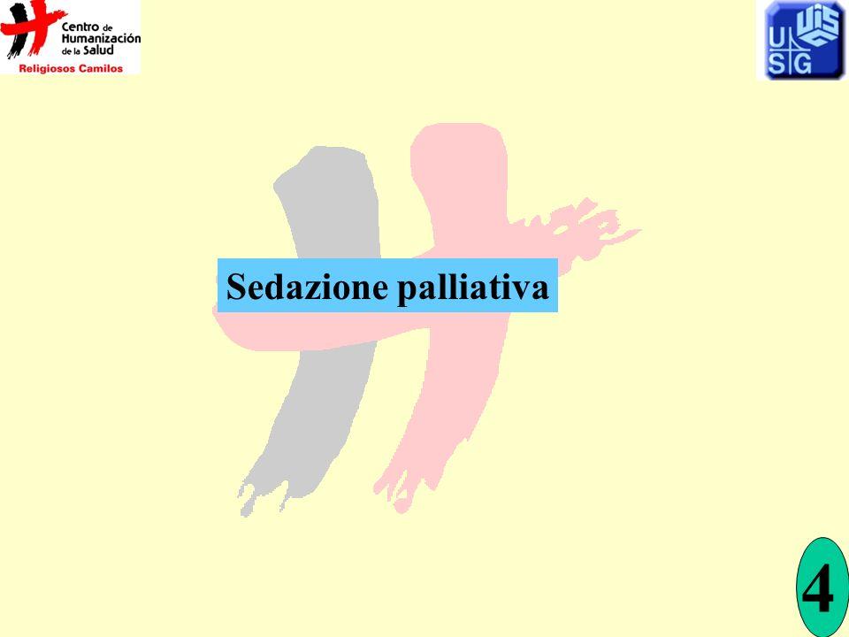 Sedazione palliativa 4