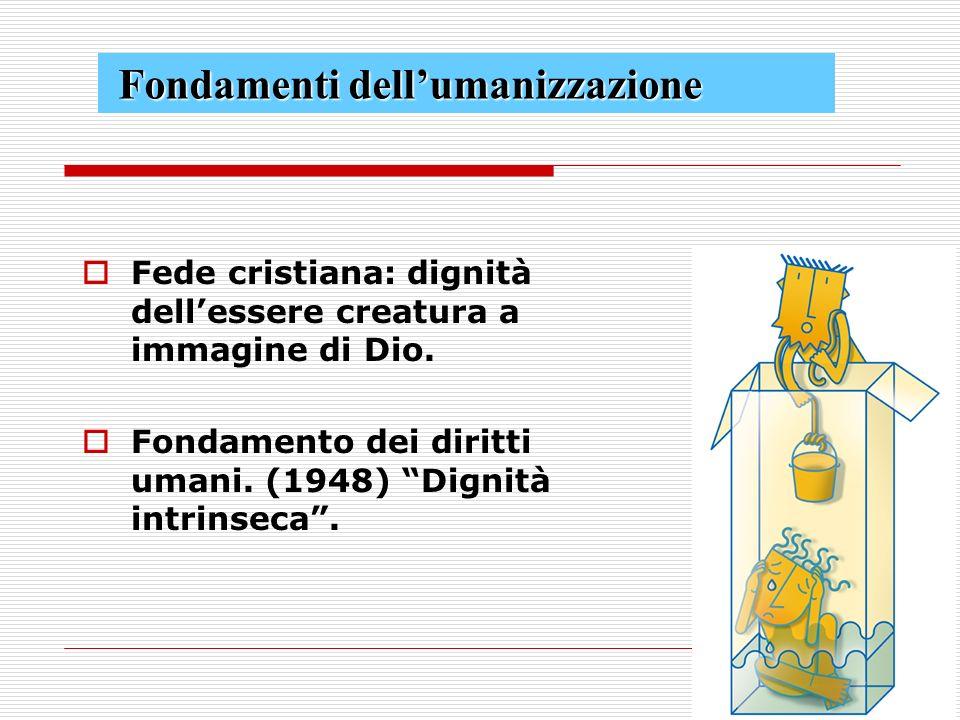 Fondamenti dell'umanizzazione