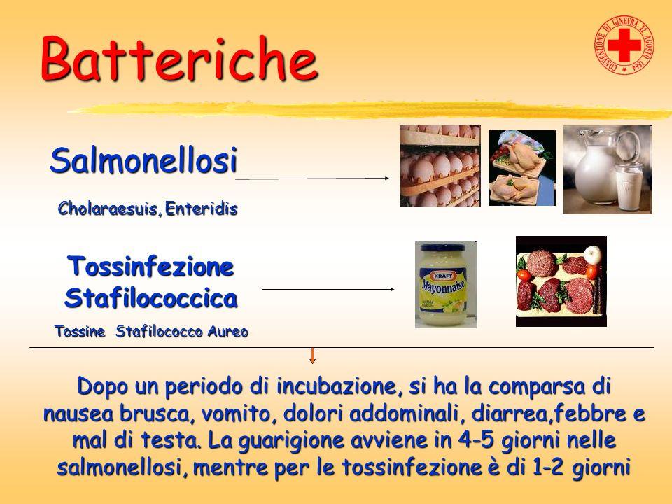 Tossinfezione Stafilococcica