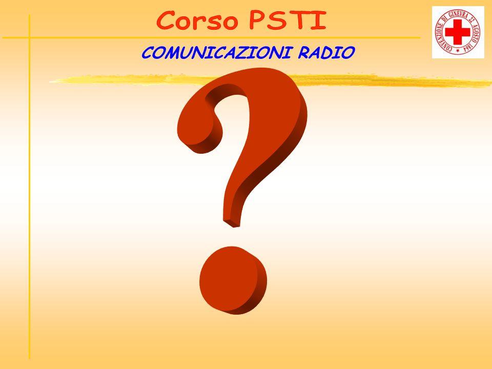 Corso PSTI COMUNICAZIONI RADIO