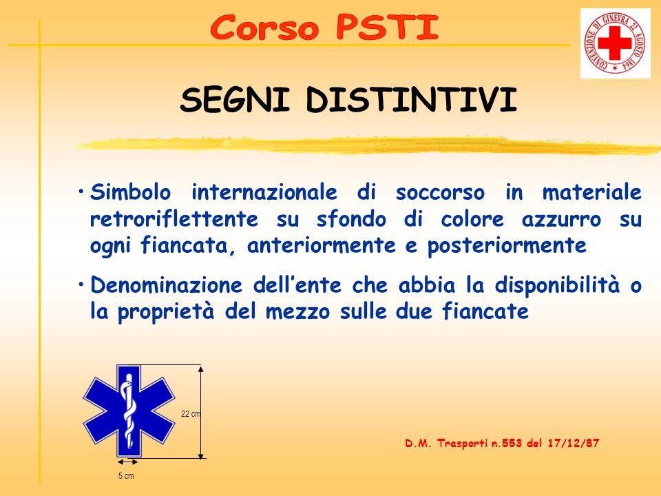 Corso PSTI SEGNI DISTINTIVI.