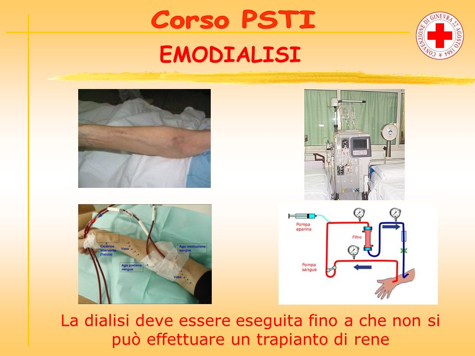 Corso PSTI EMODIALISI.