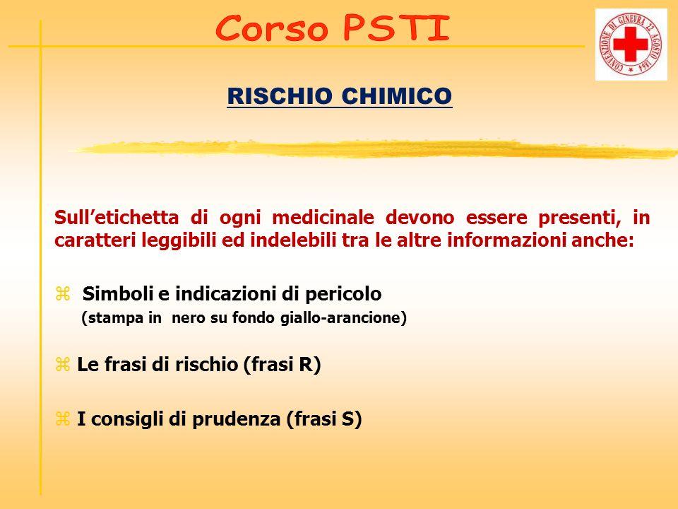 RISCHIO CHIMICO Corso PSTI