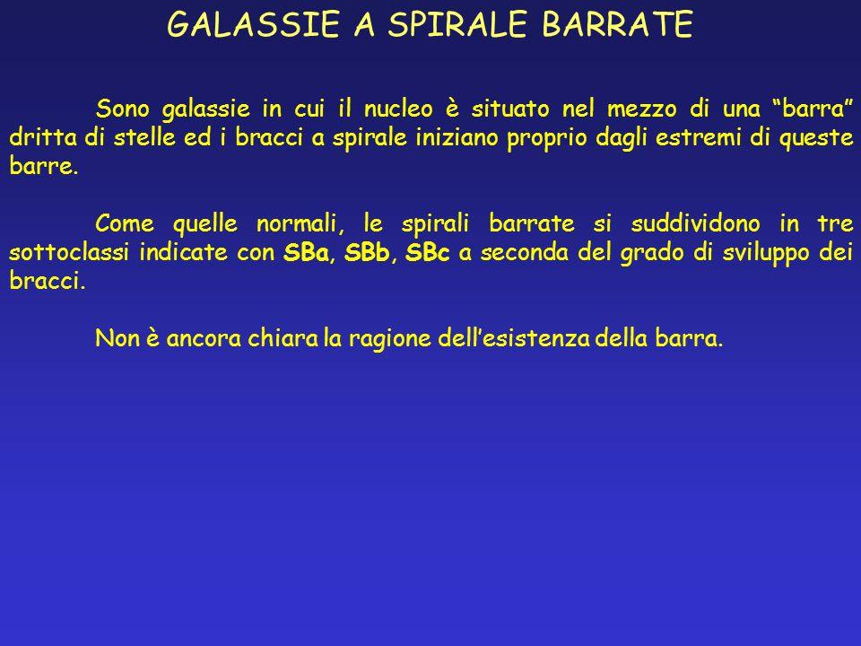 GALASSIE A SPIRALE BARRATE