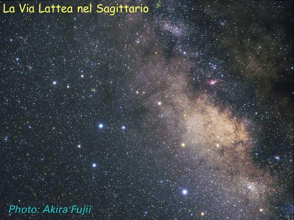 La Via Lattea nel Sagittario