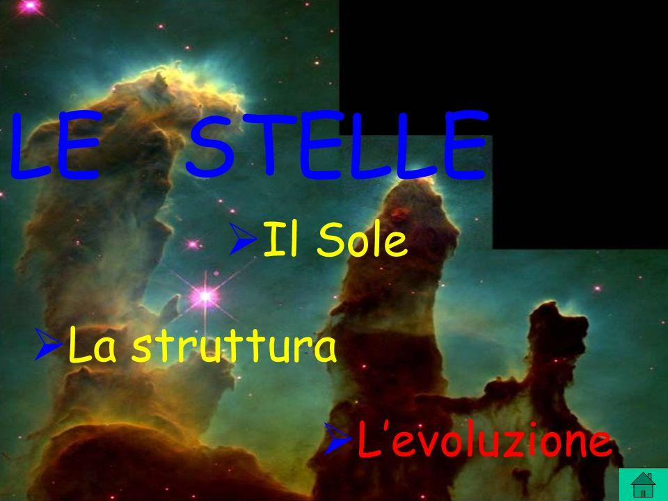 LE STELLE Il Sole La struttura L'evoluzione
