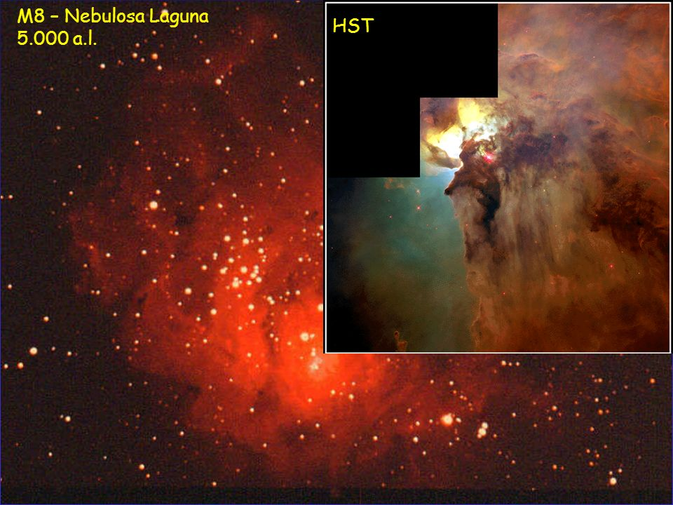 M8 – Nebulosa Laguna 5.000 a.l. HST