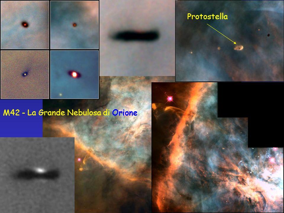 Protostella M42 - La Grande Nebulosa di Orione