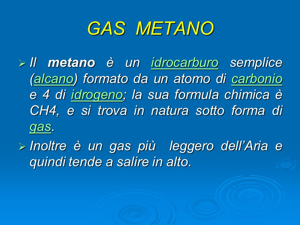 GAS METANO