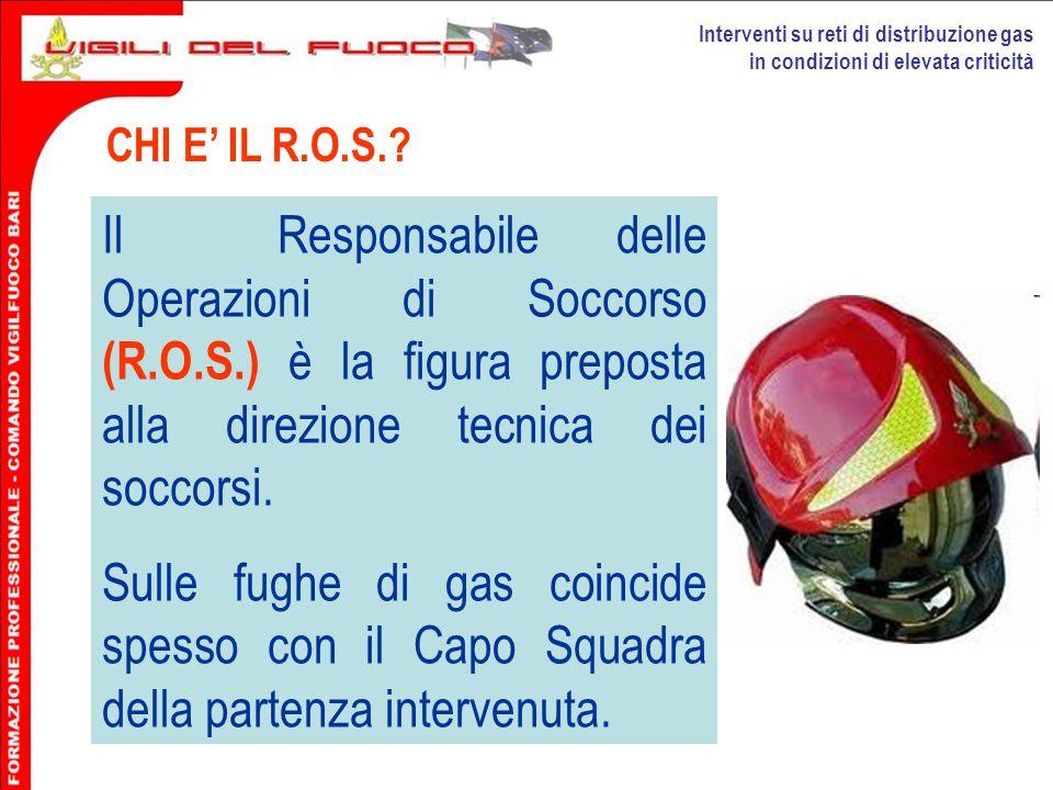 Interventi su reti di distribuzione gas