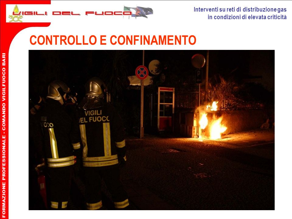 CONTROLLO E CONFINAMENTO