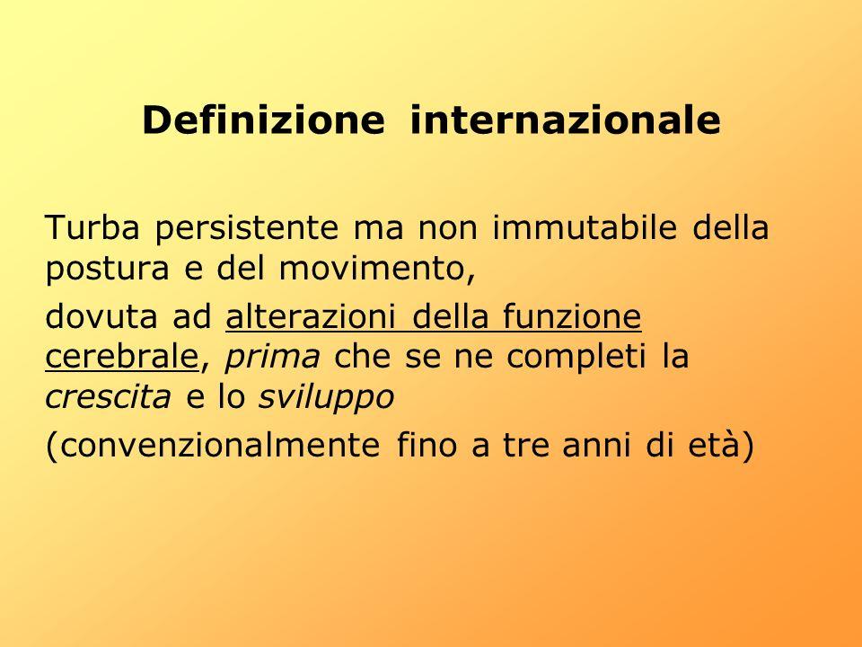 Definizione internazionale