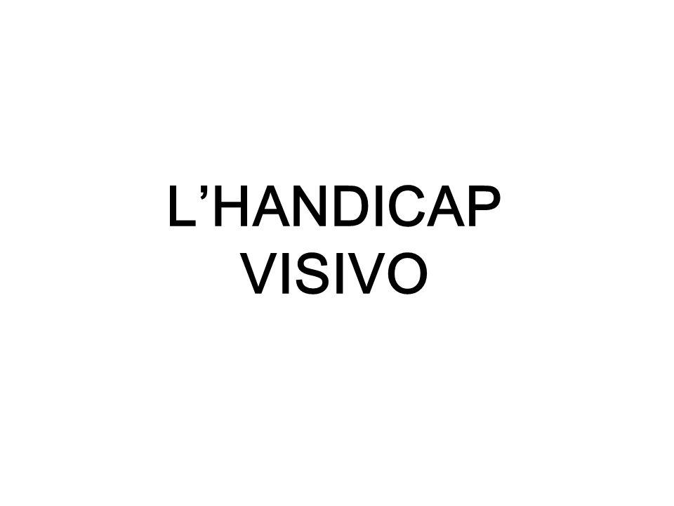 L'HANDICAP VISIVO
