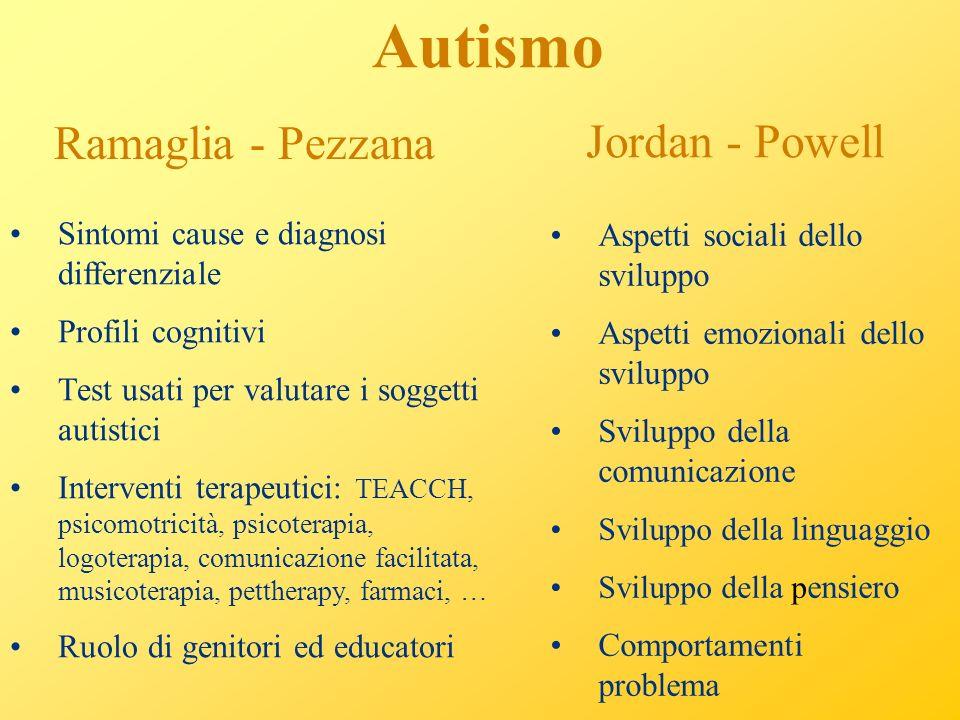 Autismo Ramaglia - Pezzana Jordan - Powell