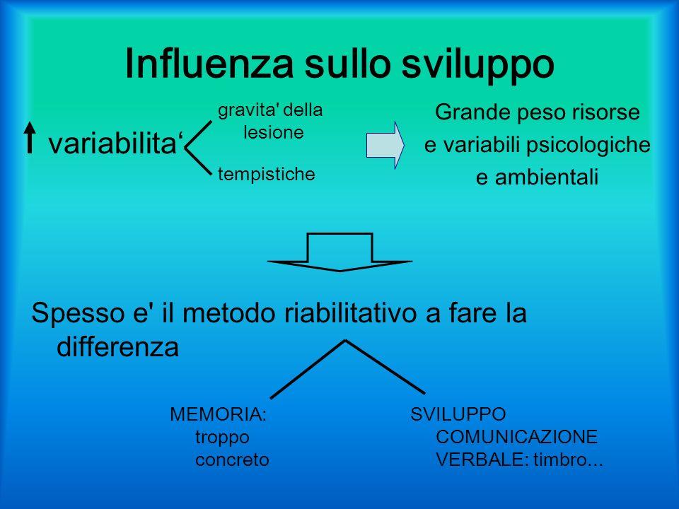 Influenza sullo sviluppo
