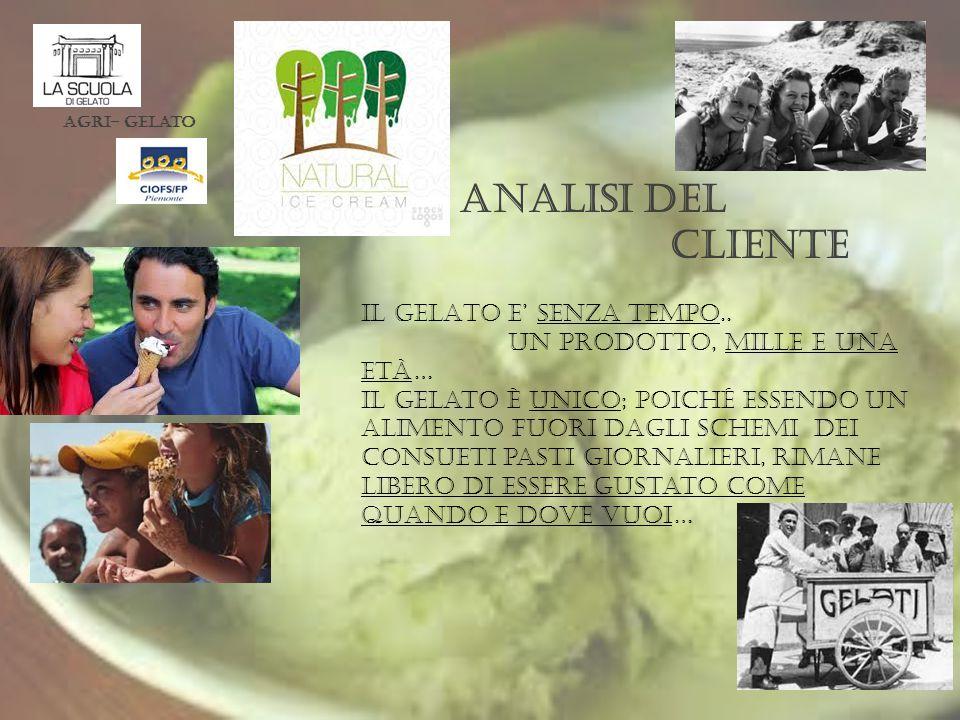 Analisi del cliente IL GELATO E' SENZA TEMPO..