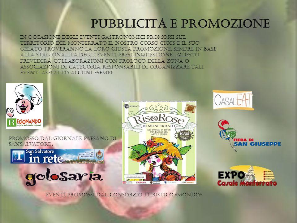 Pubblicità e promozione
