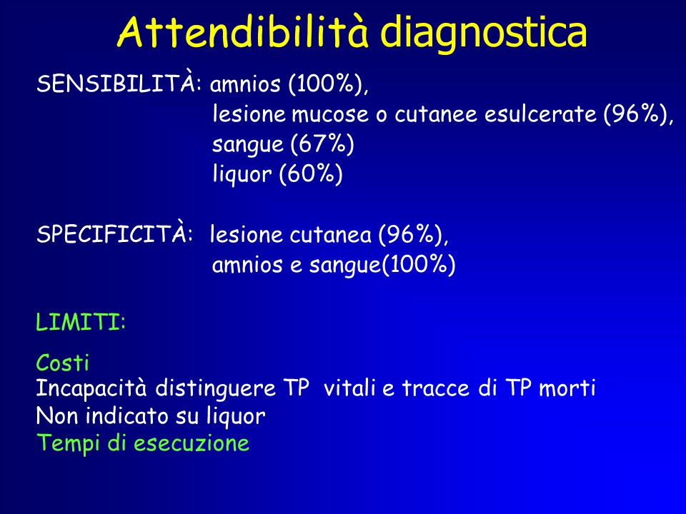 Attendibilità diagnostica