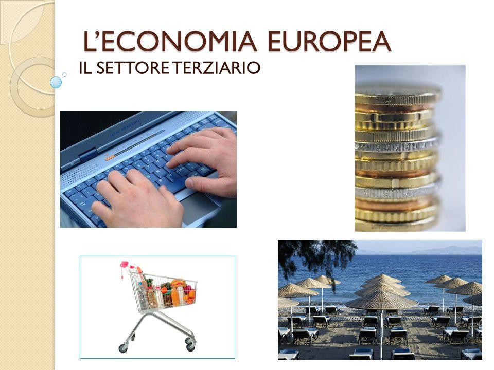 L'ECONOMIA EUROPEA IL SETTORE TERZIARIO