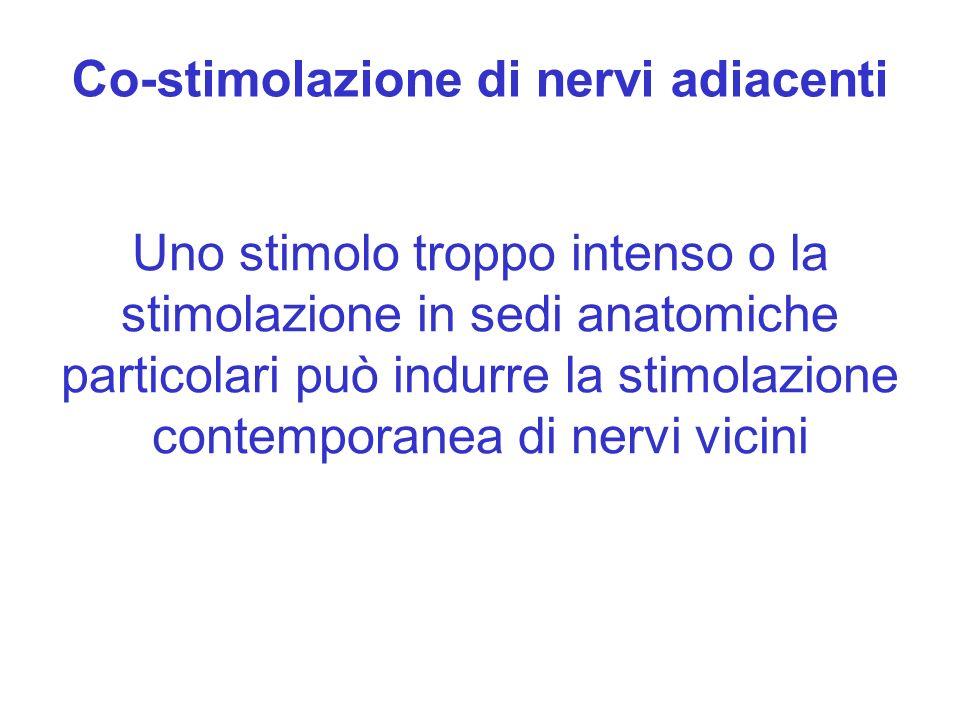 Co-stimolazione di nervi adiacenti