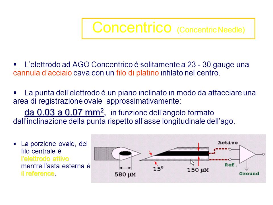 Concentrico (Concentric Needle)