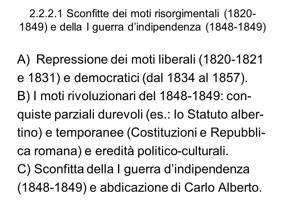 Repressione dei moti liberali (1820-1821